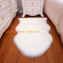 Pelle di pecora su ordinazione della coperta della pelliccia artificiale di formato della moquette acrilica su ordinazione all'ingrosso
