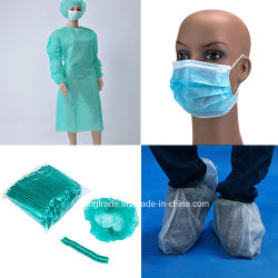病院での単回使用の不織布医療機器