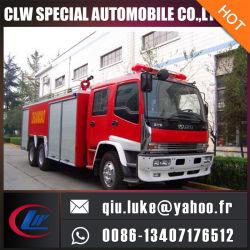 camion de lutte contre l'incendie de châssis de 4500L Isuzu
