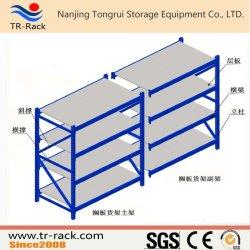 Racking d'acciaio di memoria della scaffalatura a uso medio lunga della portata per il magazzino