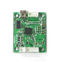 Kleiner Datenträger SpO2 + Temp Moduel mit Standardzubehör