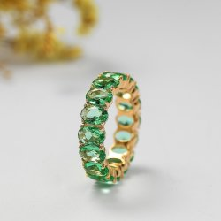 جذّابة تصميم 925 فضة يصفّى نوع ذهب أبديّ نمط مجوهرات حل