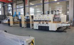 Die-Cutter van de Printer van de Maker van het geval Machine van het Karton van Gluer van de Omslag de Automatische