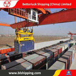 Desde China a Uzbekistán Karshi transportista de mercancías por ferrocarril de logística de contenedores