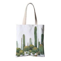 Commerce de gros de l'épaule de magasinage réutilisables Tote Sac en toile, de la publicité un emballage cadeau sac, le recyclage de promotion de la plage du caisson de coulisse Sac shopping coton