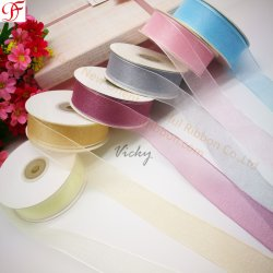 Fabrik-kundenspezifisches Korea-Schein-glänzendes blosses Großhandelsfarbband mit genügenden Aktien und kurze Lieferfrist für die Verpackung/Dekoration/Weihnachten/Bogen