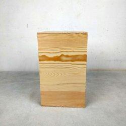 Diseño simple de madera de bambú personalizada productos de urnas funerarias