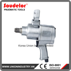 El aire de 1 pulgada de la herramienta de la llave de impacto para el conjunto del tornillo de neumáticos para camiones Ui-1201