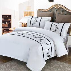 Imprimé en coton égyptien de Style Chinois drap de lit fixe