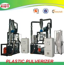 Máquina de pulverização de plástico de PVC Pulverizador EVA PE PP PC ABS LDPE de HDPE