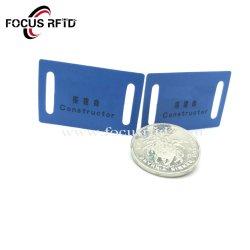 125kHz tamanho personalizado Cartão de Identificação RFID para a Cadeia de Comando Via Rádio