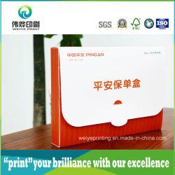 Scatola In Pvc In Plastica, Scatola Per La Stampa Di Imballaggi In Plastica Pieghevole Per I Documenti