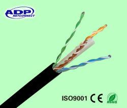 UTP 4p/STP/FTP/SFTP/Cat5 Cat5e / CAT6 Cable de red al aire libre