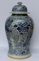 Porcelaine antiques Temple chinois Jar