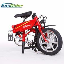 Più nuovo Portable E6 che piega bicicletta elettrica con il motore senza spazzola 250W