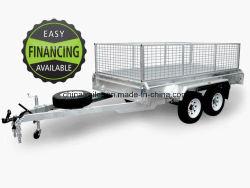 8X5 10X5 10X6 Feux galvanisé à chaud boîte tandem /voiture /Utilitaire /de roulottes de voyage