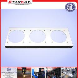 Feuille de métal de la plaque de fabrication OEM pour couvercle de la machine