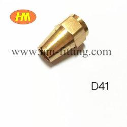 真鍮の付属品の火炎信号の不足分のナット