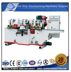 Qingdao máquina de moldagem de madeira / Máquina de aplainar Quatro Lados Molder /Plaina dentro da Máquina 130mm-230 mm parquet de madeira maciça de faia e de Carvalho