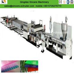 Экструзионные Оборудования по Производству Сотовых Панелей из Поликарбоната для Теплицы
