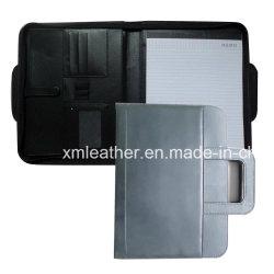 ハンドルが付いているBreifcaseのタイプ革ファイルホルダー文書ホールダー
