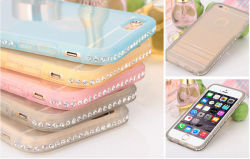 iPhone 6のための水晶Diamond Case TPU Bumper