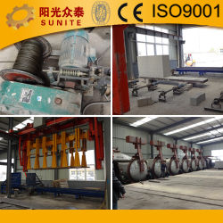 مصنع الآجر التلقائي الخفيف الوزن / AAC كتلة الماكينة جهة التصنيع
