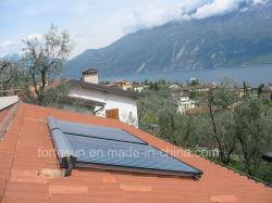 Integrado del techo de la División de alta eficiencia Heatpipe colector solar