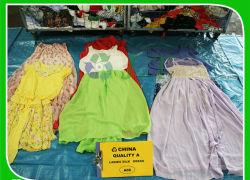 مصنع الصين بيع جيد بالجملة الدرجة AAA chidren الصيف المستخدم ملابس للنساء الأفريقيات ملابس اليد الثانية