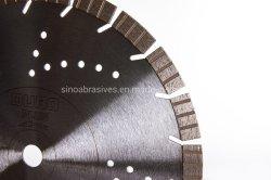 La Hoja de diamante segmentado de soldadura por láser para corte de cerámica