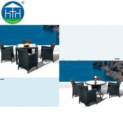 Nieuw Ontwerp Rattan/Wicker Modern Dining Set Meubilair Met Stoel En Tafel
