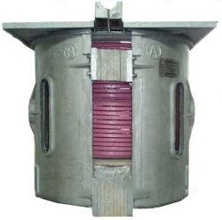 1.5Ton 700kw moyenne fréquence four de fusion par induction pour le cuivre