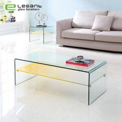 Moderner Glas-Beistelltisch Sofa-Teetisch