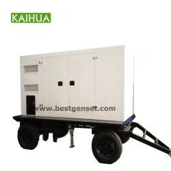 generatore diesel silenzioso mobile elettrico della saldatrice del motore 45kVA/30kw