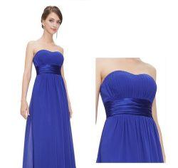 Popular fiesta de verano costumbre hacer vestido de noche elegante vestido de noche Bridesmaid Dress