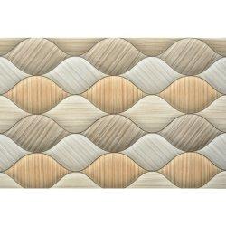 تصميم أنيق ذو خط متموج ذو تجانب للحائط لحمامات صغيرة