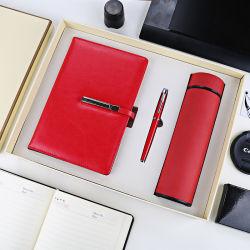 Telecom Companyのための真空のコップのノートのペンが付いているビジネスギフトセット