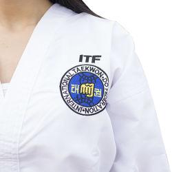 In het groot Katoenen Stof Van uitstekende kwaliteit Itf Taekwondo Eenvormige Dobok