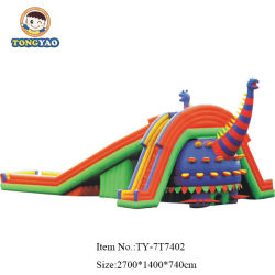 Im Freienpark-Dinosaurier-Form-Riese, der Inflatables Spielwaren bekanntmacht