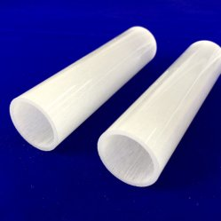 不透明な10X8X2500mm電気発熱体の水晶ガラス管