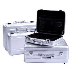 Ferramenta de armazenamento à prova de fogo personalizado profissional caso Maleta de alumínio