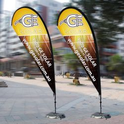 Custom Design Advertising Teardrop Flags Outdoor Feather Printed Flying Banner Textiel vlag banner Flying Fabric vlag Banner