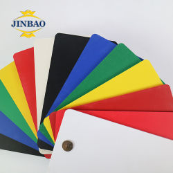 Jinbao 2mm 3 mm d'1220*2440mm 1250*1850mm noir de la mousse isolante Forex en PVC de base de feuille A4