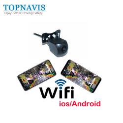 Wireless WiFi вид сзади погрузчика для скутера резервного копирования света заднего хода автомобиля камеры