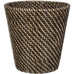 Cestino di lavanderia di vimini personalizzato del cestino di memoria del salice del cestino del rattan