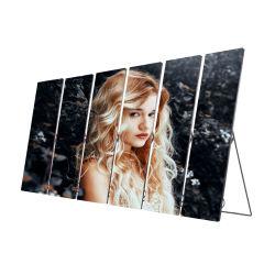 Digital fügt Inddor ultradünnen Spiegel-Panel-ultra dünnen Plakat LED-Bildschirm hinzu