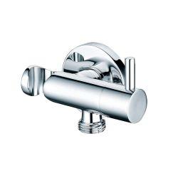 高品質の熱い販売のクロムフィルターが付いている真鍮の角度弁