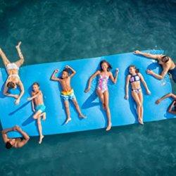 حوض سباحة رغوي Floating Water at Fat Floating Cusher Floating Beach Floating سجادة مياه