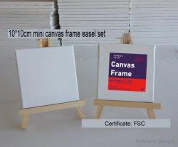 10*10cmの高品質の陳列台のキャンバスはブランクオイルによって塗られたおもちゃを組み立てた