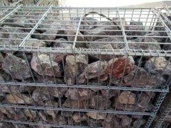 Soldado de alta calidad de la jaula de piedra Gabion Box 50mm * 50mm con mucho el recubrimiento de zinc
